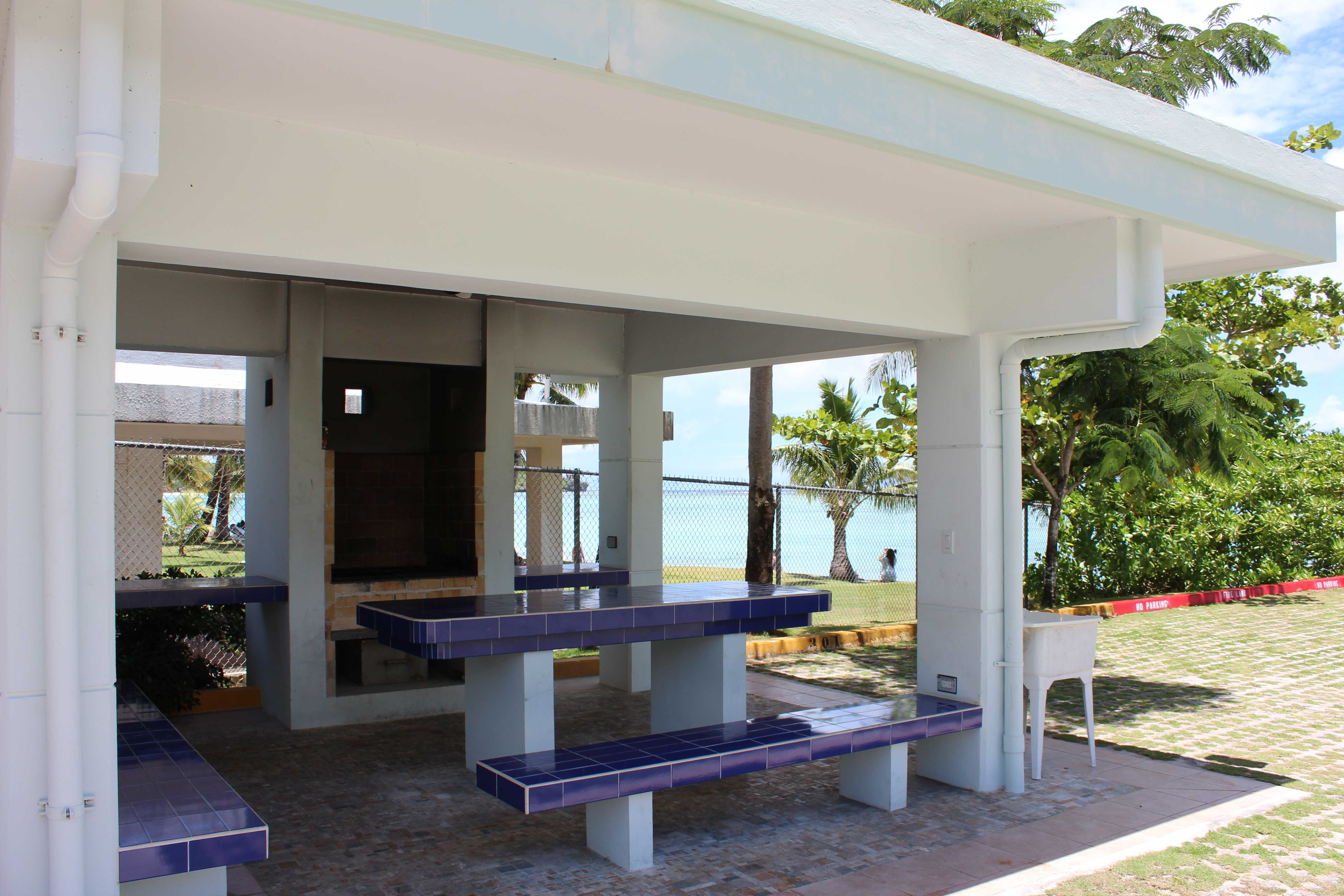 Guam-Beachfront-Residences-Barbeque-Area