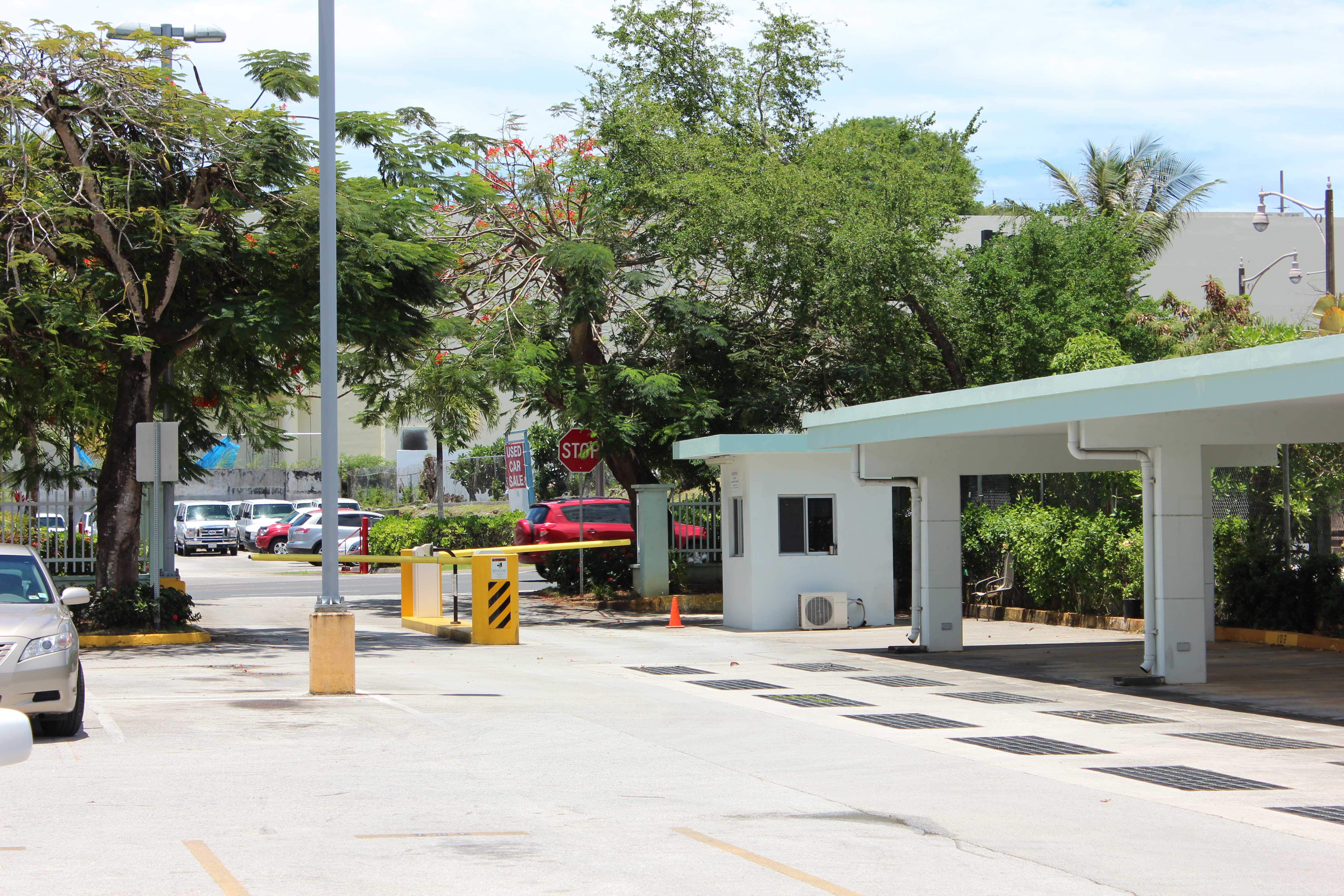 Guam-Beachfront-Residences-Gated-Entry