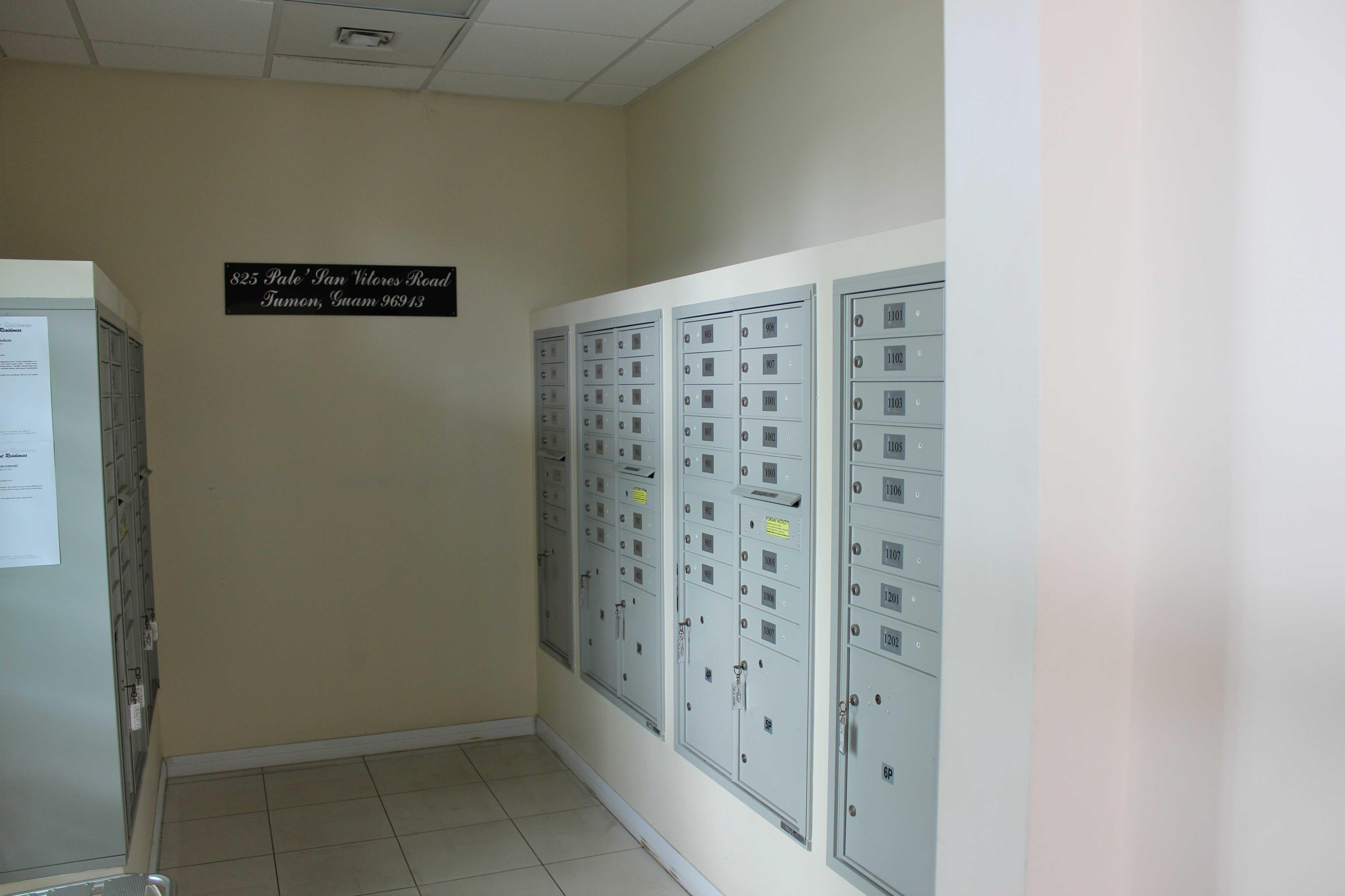 Guam-Beachfront-Residences-Mailbox