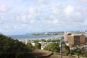 View from Agana Heights