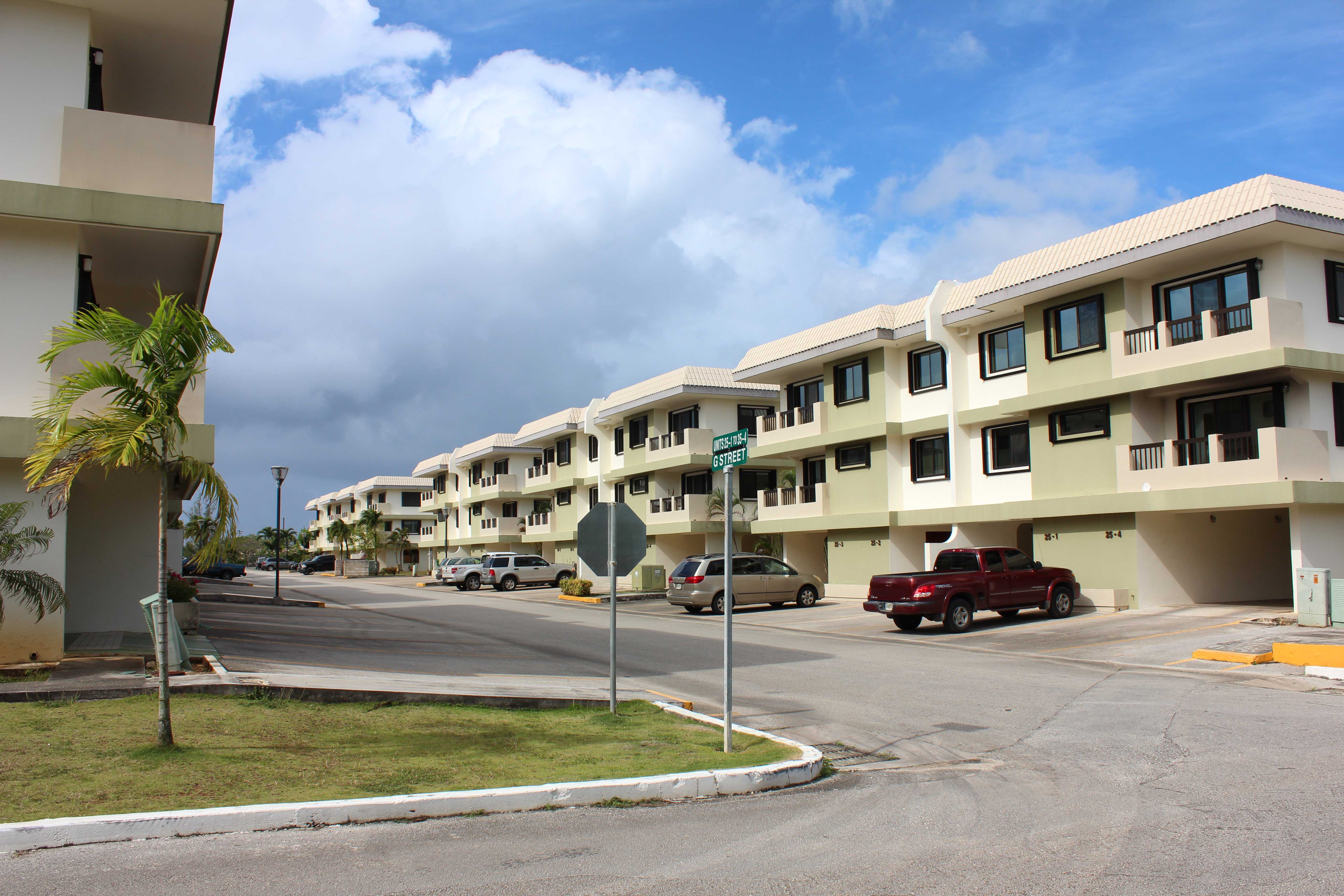 Royal Garden Townhome Guam Neighborhood